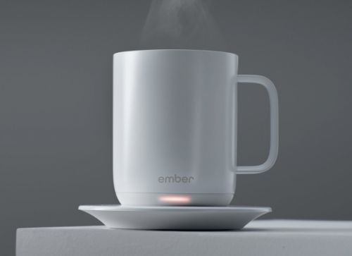 Ember is a smart mug that keeps your coffee at the exact temperature you want