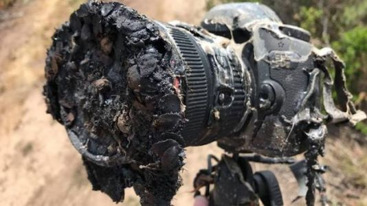RIP NASA Photographer's Camera That Melted During a Rocket Launch