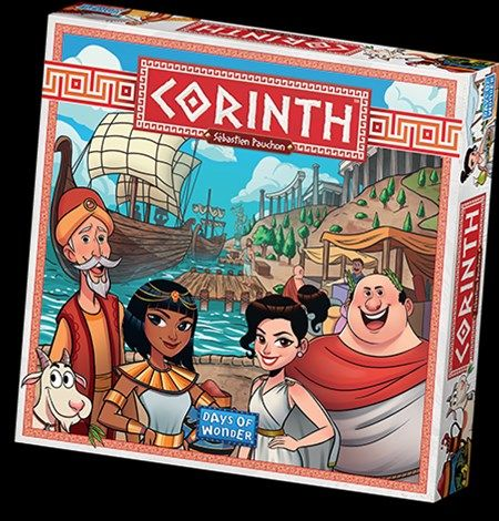 Days of Wonder Announces Corinth Board Game