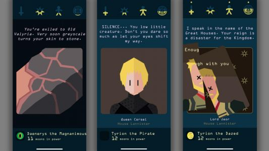 Reigns: Game Of Thrones Review: Swipe Wight