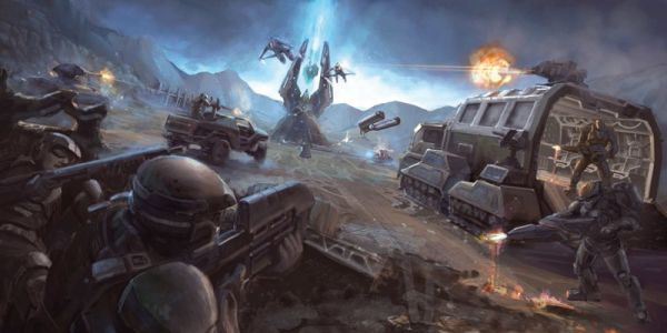 Halo timeline: Beginning of the Human-Covenant War and the downfall of Harvest