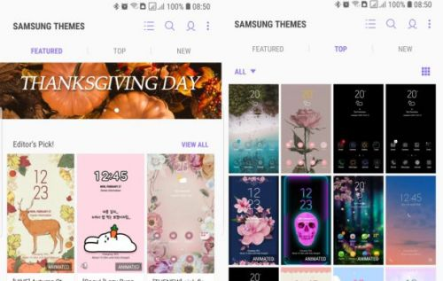 Samsung Android Pie update gives free themes an expiration date