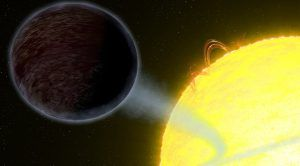 Astronomers Catch a Glimpse of a Pitch-Black Planet