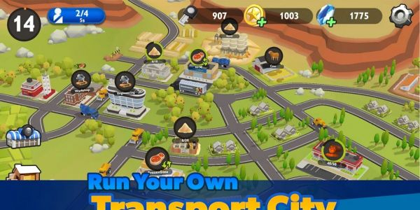 Transport City: Truck Tycoon is a city simulation game out now for iOS and Android