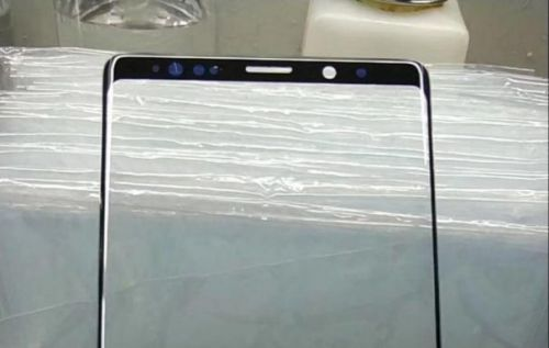 Galaxy Note 9 screen panel leak: still notchless
