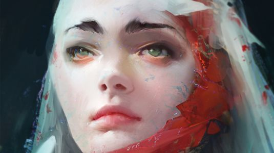 How to mix photorealism with a loose painting style
