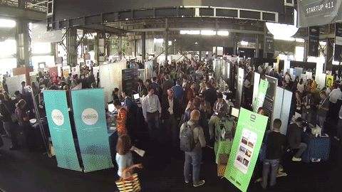 The Startup Alley from this week's TechCrunch Disrupt San Francisco