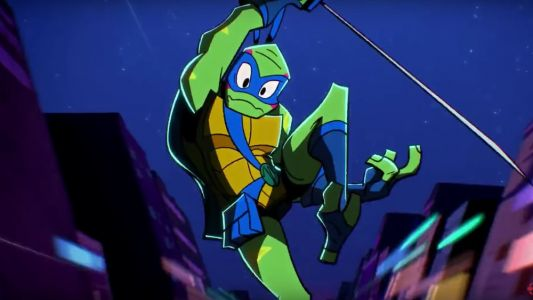 Watch The Opening Sequence For The New RISE OF THE TEENAGE MUTANT NINJA TURTLES Animated Series