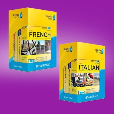 Learn French, Italian, and more with these $118 Rosetta Stone bonus packs