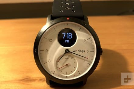 A post-Nokia Withings Steel HR Sport brings GPS with nearly a month's battery
