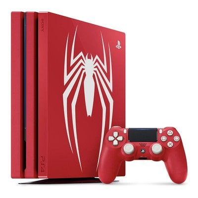 Pre-order the 'Amazing Red' PlayStation 4 Pro in time for the new Marvel's Spider-Man