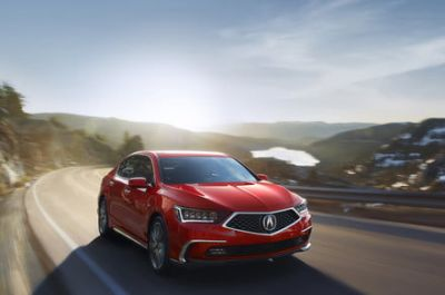 The Acura RLX sedan celebrates its fourth birthday with a nose job