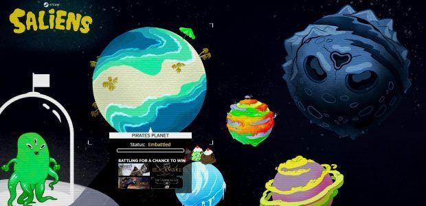 Steam's summer sale opens with a mini-game gimmick