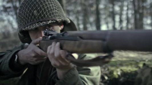 Trailer For The WWII Christmas Movie THE BATTLE OF THE BULGE: WUNDERLAND