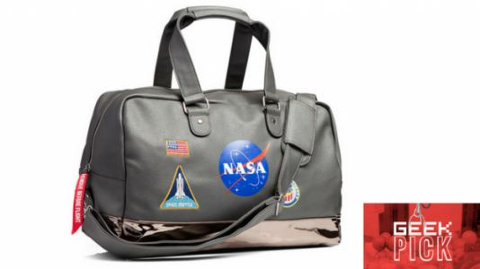 GEEK PEEK: NASA Lifestyle Duffel