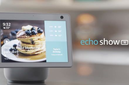 Amazon's Echo Show 10 has a screen that moves so you don't have to