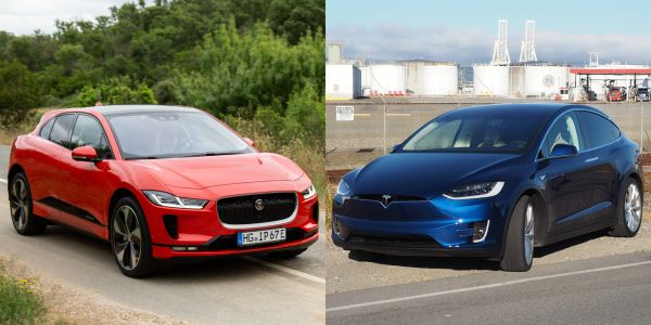 The Model X vs the I-Pace: A luxury electric SUV face-off