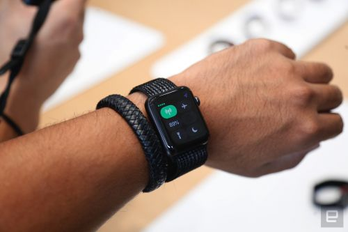 Apple Watch with LTE will cost $10/month on US cellular carriers