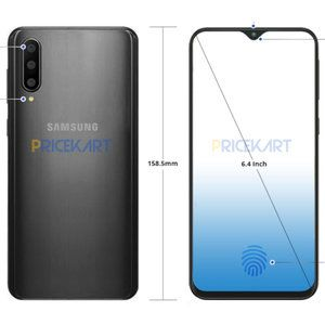 Samsung Galaxy A50 leaked render shows triple camera, minimalistic notch