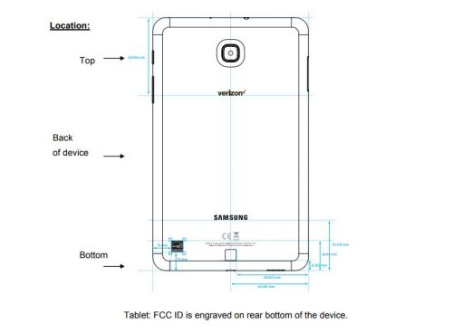 Samsung Galaxy Tab A SM-T387V' For Verizon Visits The FCC