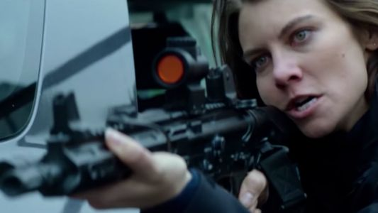 The Walking Dead's Lauren Cohan On How Her Mile 22 Fight Training Differs From Zombie Apocalypse Prep