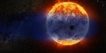 In Search of Missing Worlds, Hubble Finds a Fast Evaporating Exoplanet