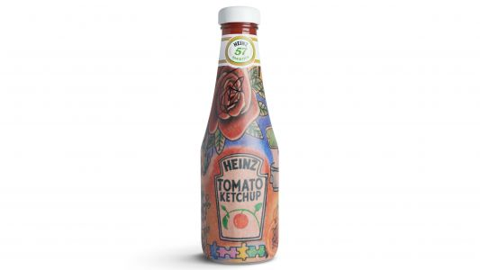 Why has Heinz released Ed Sheeran-themed ketchup bottles?
