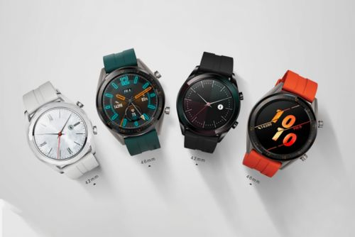 Huawei Watch GT smartwatch line adds new Active and Elegant models