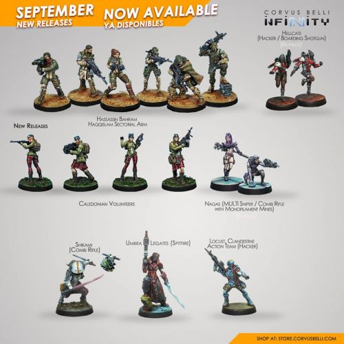 September Releases Available For Infinity