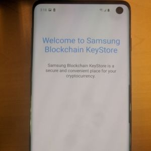 Photos show Samsung Galaxy S10 will support blockchain storage