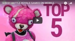 Fortnite heads up our 5 best battle royale games video feature