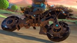 Screech around Mario Kart 8 Deluxe in serious style this awesome Breath of the Wild-themed update
