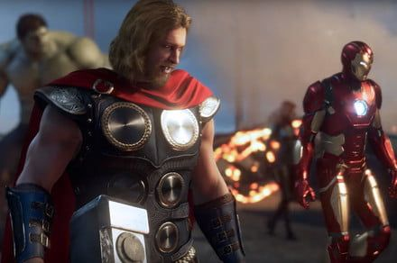 Marvel's Avengers single-player campaign, customization make splash at Comic-Con