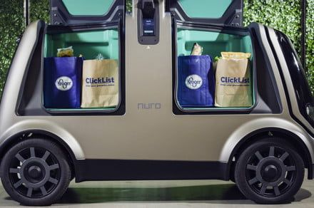 Kroger supermarket chain tests driverless grocery deliveries in Arizona