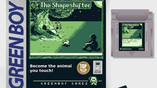 A New Game for the Original Nintendo Game Boy Called THE SHAPESHIFTER Is Being Released