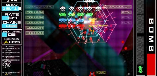 Space Invaders Extreme takes the classic shooter clubbing next month