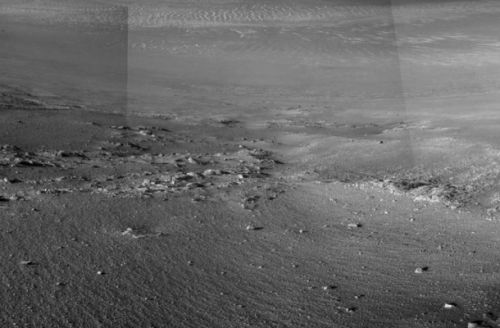 NASA's Opportunity rover just discovered possible evidence of water on Mars