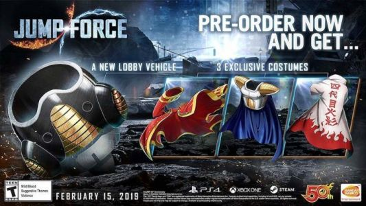 Jump Force Release Date And Pre-Order Guide