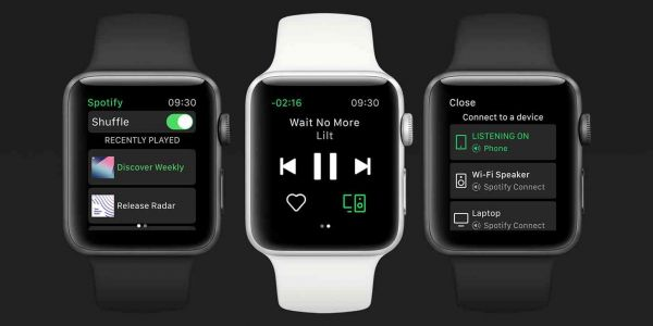 Spotify launches Apple Watch app