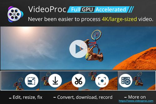 BrandPost: Use GPU-accelerated VideoProc to easily process 4K video, audio, and DVDs