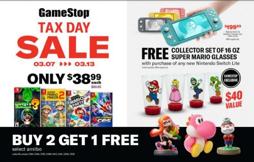 GameStop Now on the Second Half of its Two-Week Tax Day Sale Event