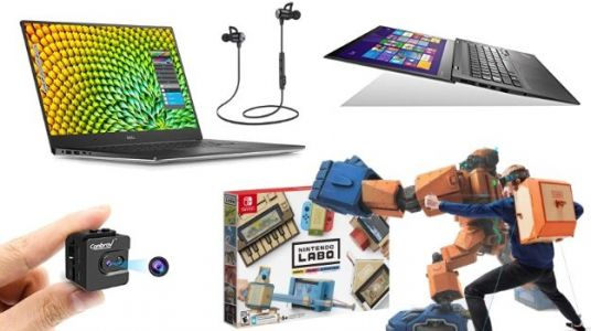 Geek Deals Roundup: $10 Wireless Earbuds, Pre-Order the Nintendo Labo, and more