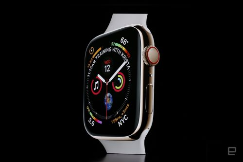 Apple Watch Series 4 has a sleeker edge-to-edge screen