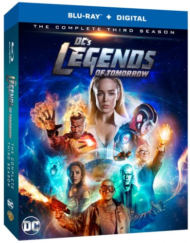 'DC's Legends of Tomorrow' Season 3 Blu-ray and DVD Release Date and Details