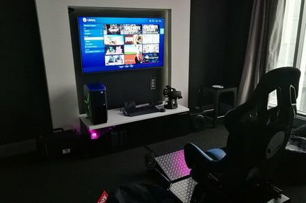 The Hilton Hotel in Panama features an insane Alienware gaming room
