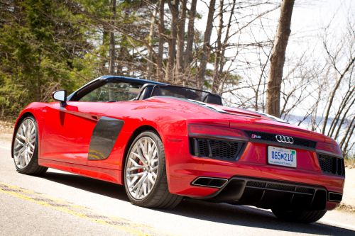 Review: A week in an Audi R8 Spyder, an everyday supercar