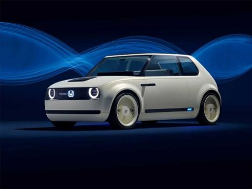 Honda Urban EV concept mixes a little retro with a little modern design
