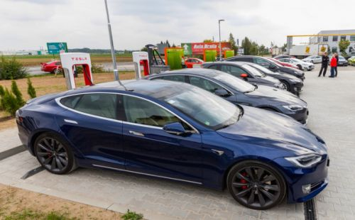 Tesla offers to install workplace charging stations for free for qualified businesses