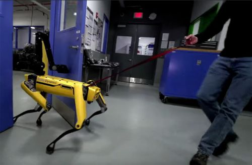 The new video of Boston Dynamics' robot dog is even more horrifying than the first one