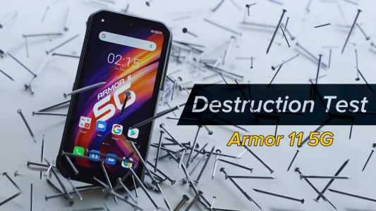 Ulefone Armor 11 5G Faces Cement & Nails In Durability Tests